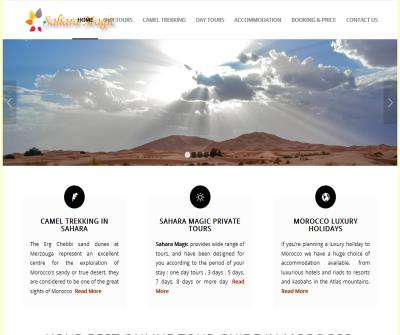 Morocco Tours Sahara Magic Private Vacations