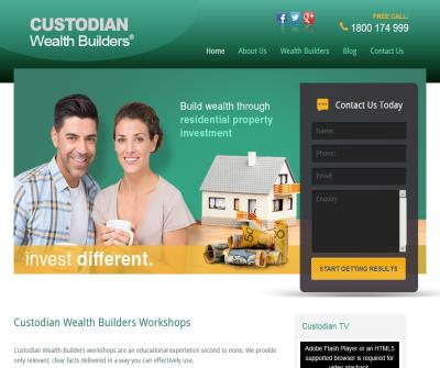 Custodian Wealth Builders - Feedback, Reviews, Complaints, Scam