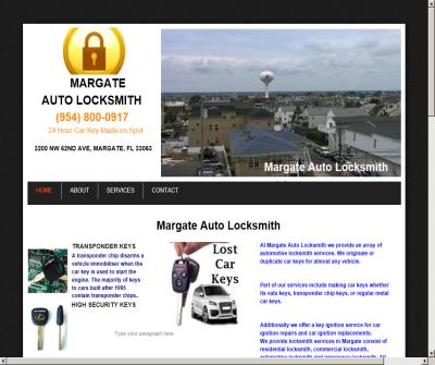 Margate Auto Locksmith Margate, FL
