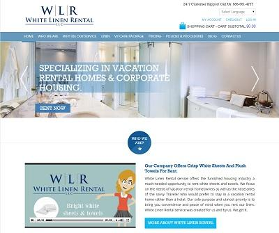 Book online White Linen rental services for Vacation Rental Homes