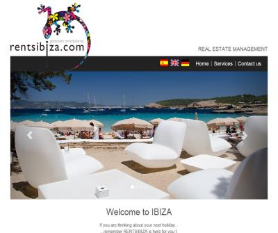 Rental villas in Ibiza: Real Estate Management by rentsibiza.com. The best villa for you.