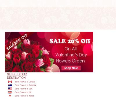 Send online flowers delivery