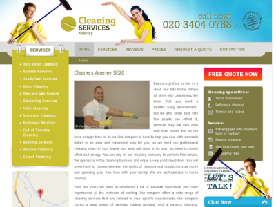 Cleaners Anerley