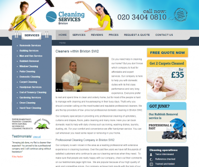 Cleaning Services Brixton