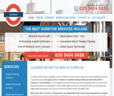 Cleaners Surbiton