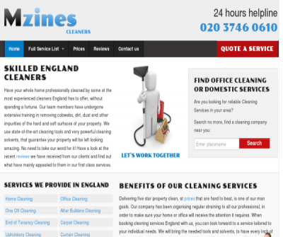 Skilled England Cleaners