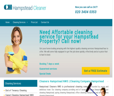 Cleaners Hampstead