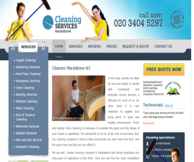 Cleaners Marylebone