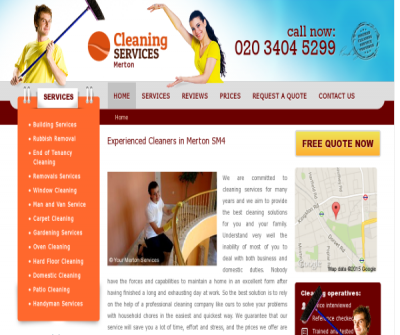 Cleaning Services Merton