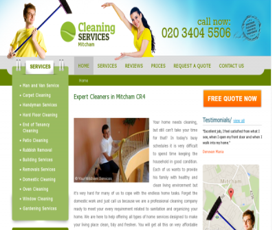Cleaning Services Mitcham