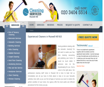 Cleaners Muswell Hill