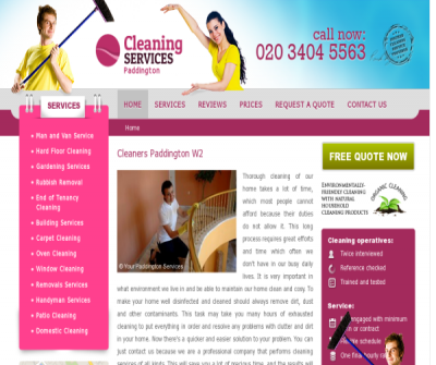 Cleaners Paddington