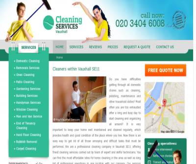 Cleaning Services Vauxhall