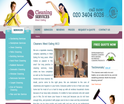 Cleaning Services West Ealing
