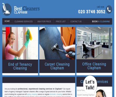 Best Cleaners Clapham