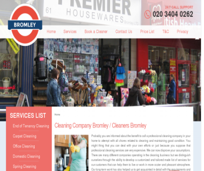 Cleaning Company Bromley