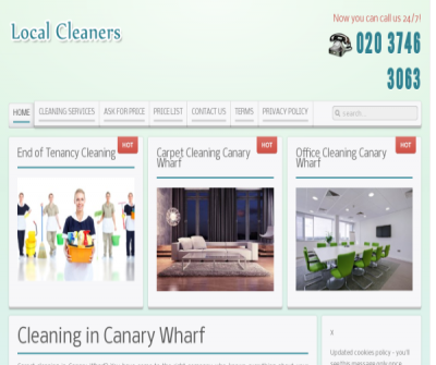 Carpet Cleaning Company Canary Wharf