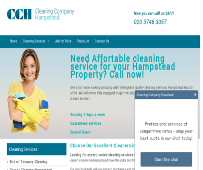 Cleaning Company Hampstead