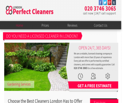 London Perfect Cleaners