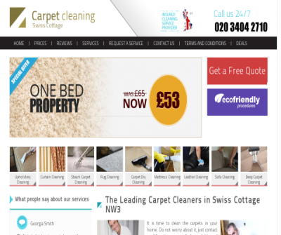 Carpet Cleaners Swiss Cottage