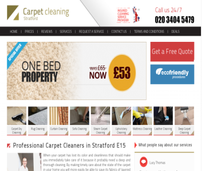 Carpet Cleaners Stratford