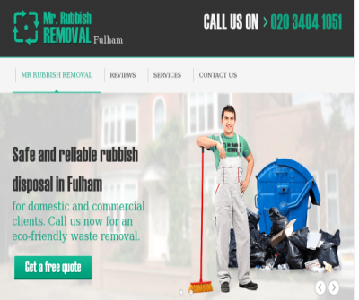 Rubbish Removal Fulham