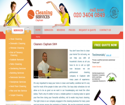 Cleaning Services Clapham