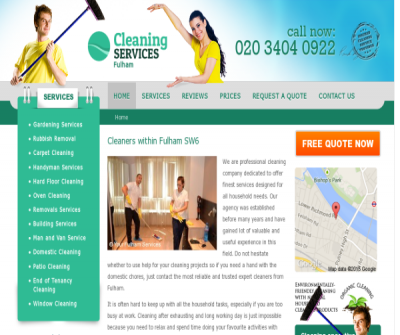 Cleaners Fulham