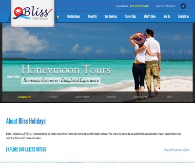 Bliss Holidays - Best Indian Holidays