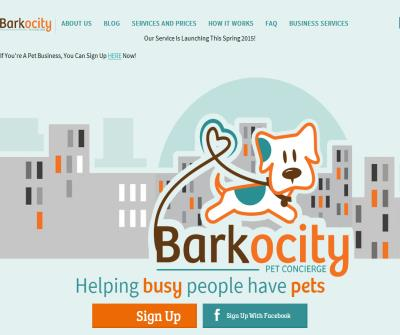 Barkocity On-Demand Pet Services