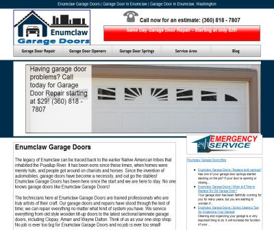 Enumclaw Garage Doors and Services