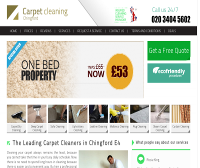 Carpet Cleaners Chingford