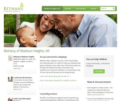 Bethany Christian Services Madison Heights