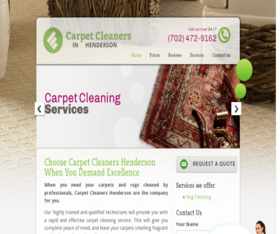 Carpet Cleaners Henderson