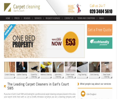 Carpet Cleaners Earl''s Court