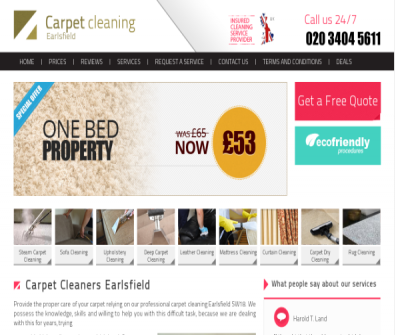 Carpet Cleaners Earlsfield