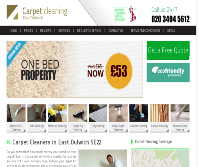 Carpet Cleaners East Dulwich