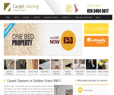 Carpet Cleaners Golders Green