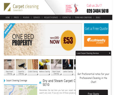 Carpet Cleaners Greenwich