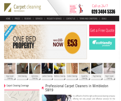 Carpet Cleaners Wimbledon