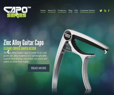 Fashionable design guitar capos for beginners and professionals!