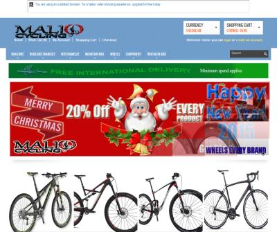 Mountain Bike -Triathlon T/T -Accessories -Groupsets -Road Bikes - Maliocycling.com
