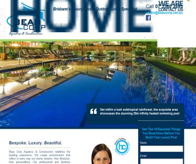 BEAU CORP- Luxury Swimming Pool Builders Brisbane