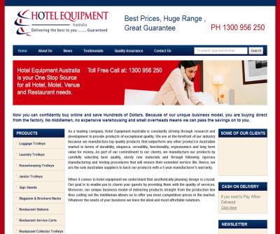 Hotel Equipment Australia - Racks, Trolleys, Carts, Bins, Tables