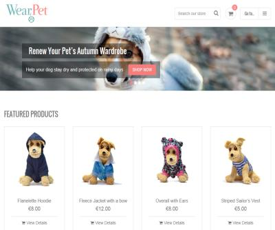 The best apparel for your dog only at WearPet.com