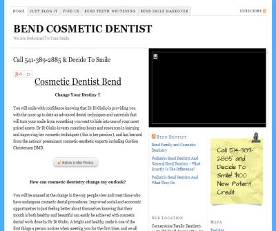BEND COSMETIC DENTIST