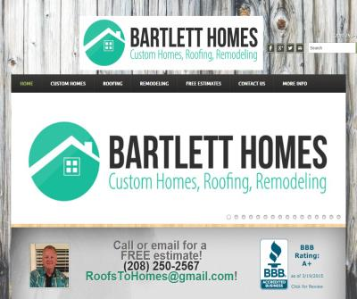 Bartlett Homes Roofing Remodeling