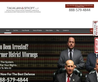 Takakjian & Sitkoff LLP- Criminal Defense Firm