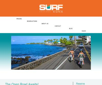 Surf Kona Scooter - Moped Rental Hawaiian Big Island,Honolulu, Oahu, Waikiki Condo