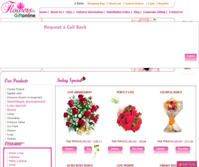 Flowers & gift online